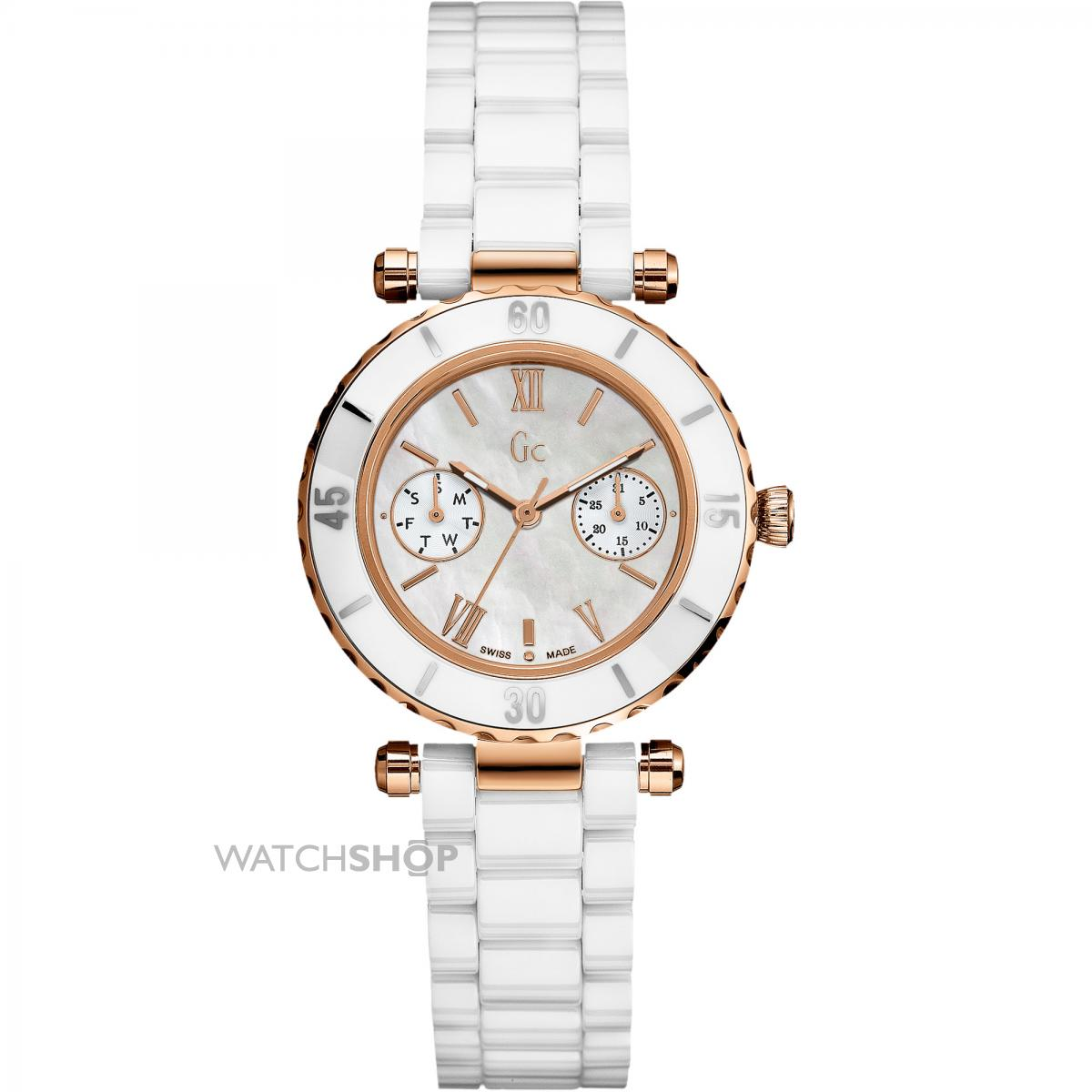 f31df117c8 Montre Femme Guess Collection GC Precious Diver Chic I01200L2